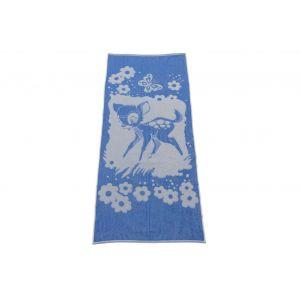 Олененок. Махровое полотенце банное 67*150 см