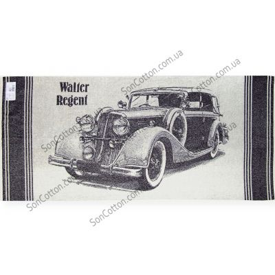 Ретро Авто 1. Махровое полотенце 67*150 см
