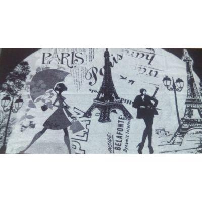 Мечты о Париже. Большое банное полотенце 81*160 см