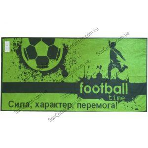 Football time. Махровое полотенце банное 67*150 см