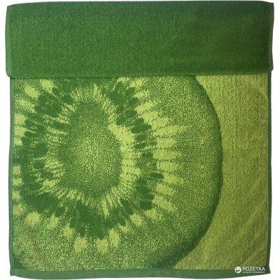 Киви. Махровое полотенце для лица 50*90 см