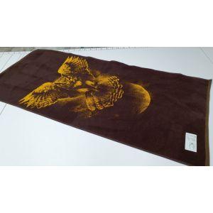 Сова. Махровое полотенце банное 67*150 см