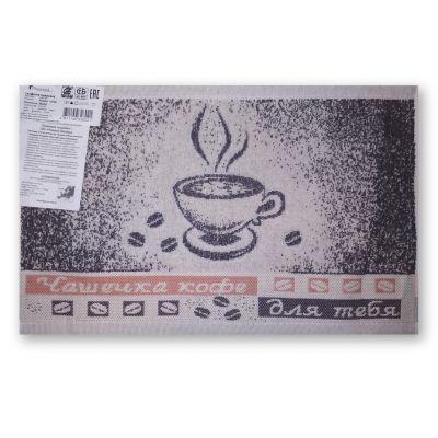 Чашка кофе. Кухонное полотенце (салфетка) 30*50 см