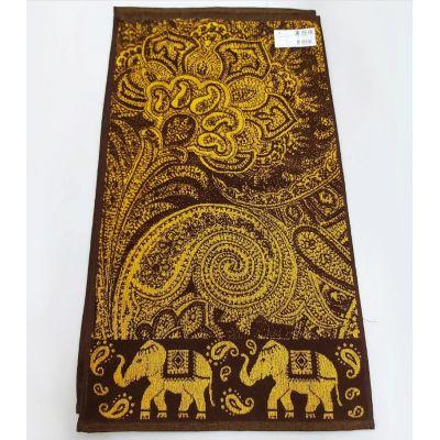 Индия. Махровое полотенце для лица 50*90 см