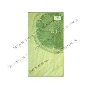 Лайм. Махровое полотенце 67*150 см