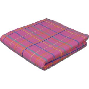 Люкс розовый. Махровое полотенце 68*140 см