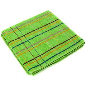 Люкс зеленый. Махровое полотенце 50*90 см