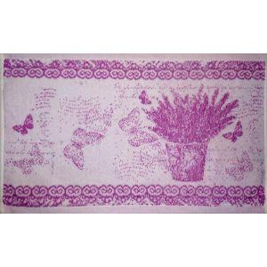 Вереск. Махровое кухонное полотенце (салфетка) 30*50 см