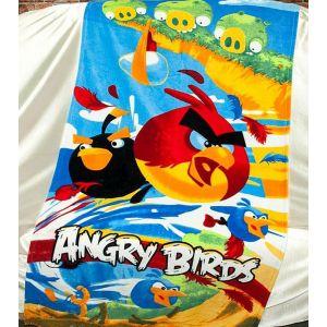 Пляжное полотенце Angry Birds. Турция