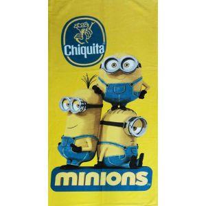 Пляжное полотенце Minions Chiquita. Турция