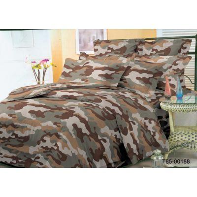 Комплект постельного белья арт. 00188 Хакі (поликоттон)