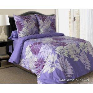 Комплект постельного белья Пальмира фиолет. (белорусская бязь)