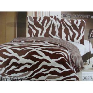 Постельное белье комплект ELWAY арт. 3023 сатин