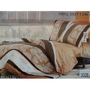 Постельное белье комплект ELWAY арт. 3028 сатин