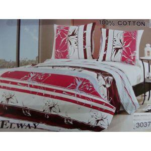 Постельное белье комплект ELWAY арт. 3037 сатин