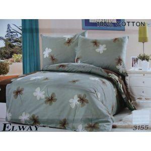 Постельное белье комплект ELWAY арт. 3155 сатин