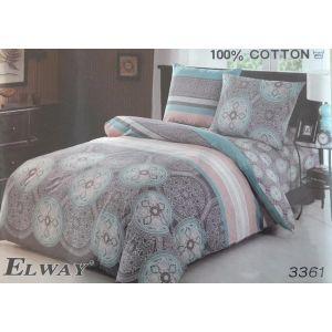 Постельное белье комплект ELWAY арт. 3361 сатин