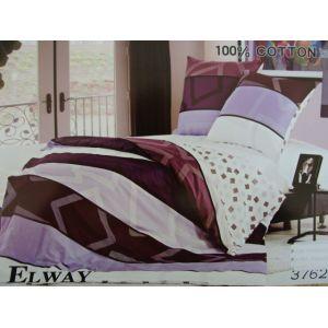 Постельное белье комплект ELWAY арт. 3762 сатин