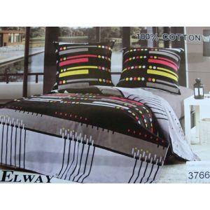 Постельное белье комплект ELWAY арт. 3766 сатин