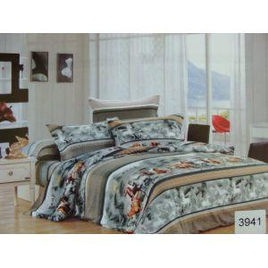 Постельное белье комплект ELWAY арт. 3941 сатин