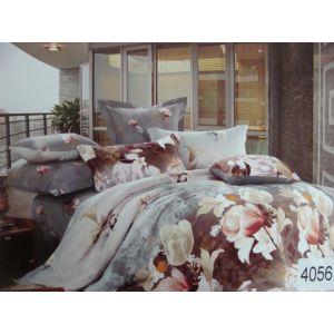 Постельное белье комплект ELWAY арт. 4056 сатин