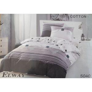 Постельное белье комплект ELWAY арт. 5040 сатин