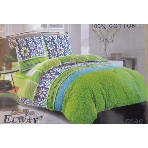 Постельное белье комплект ELWAY арт. 5046 сатин