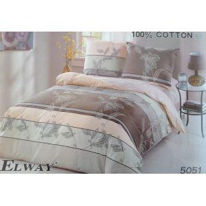 Постельное белье комплект ELWAY арт. 5051 сатин