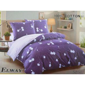 Постельное белье комплект ELWAY арт. 5056 сатин