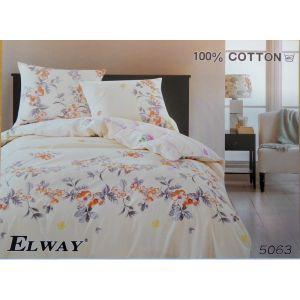 Постельное белье комплект ELWAY арт. 5063 сатин