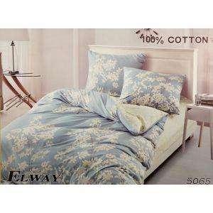 Постельное белье комплект ELWAY арт. 5065 сатин