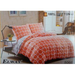 Постельное белье комплект ELWAY арт. 5066 сатин