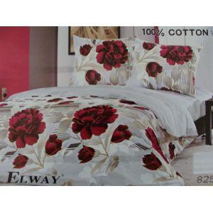 Постельное белье комплект ELWAY арт. 825 сатин