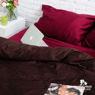 Комплект постельного белья сатин арт. PS08. ТМ Хлопковые традиции