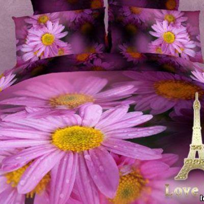 Краса. Комплект постельного белья 3D сатин фотопринт, ТМ Love You, Украина
