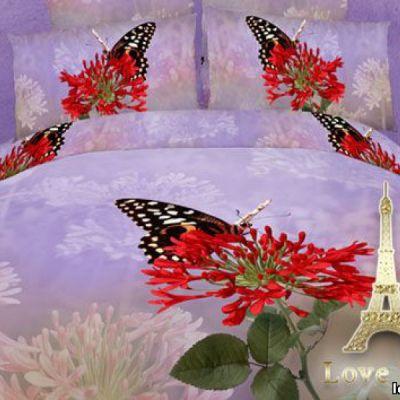 Нирвана. Комплект постельного белья 3D сатин фотопринт, ТМ Love You, Украина