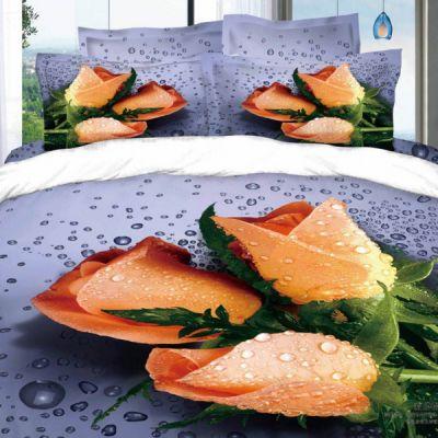 Признание. Комплект постельного белья 3D сатин фотопринт, ТМ Love You, Украина