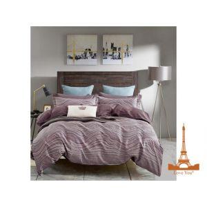 Комплект постільної білизни Фламінго фіолетовий. Купити постільну ... 865453e0577d5
