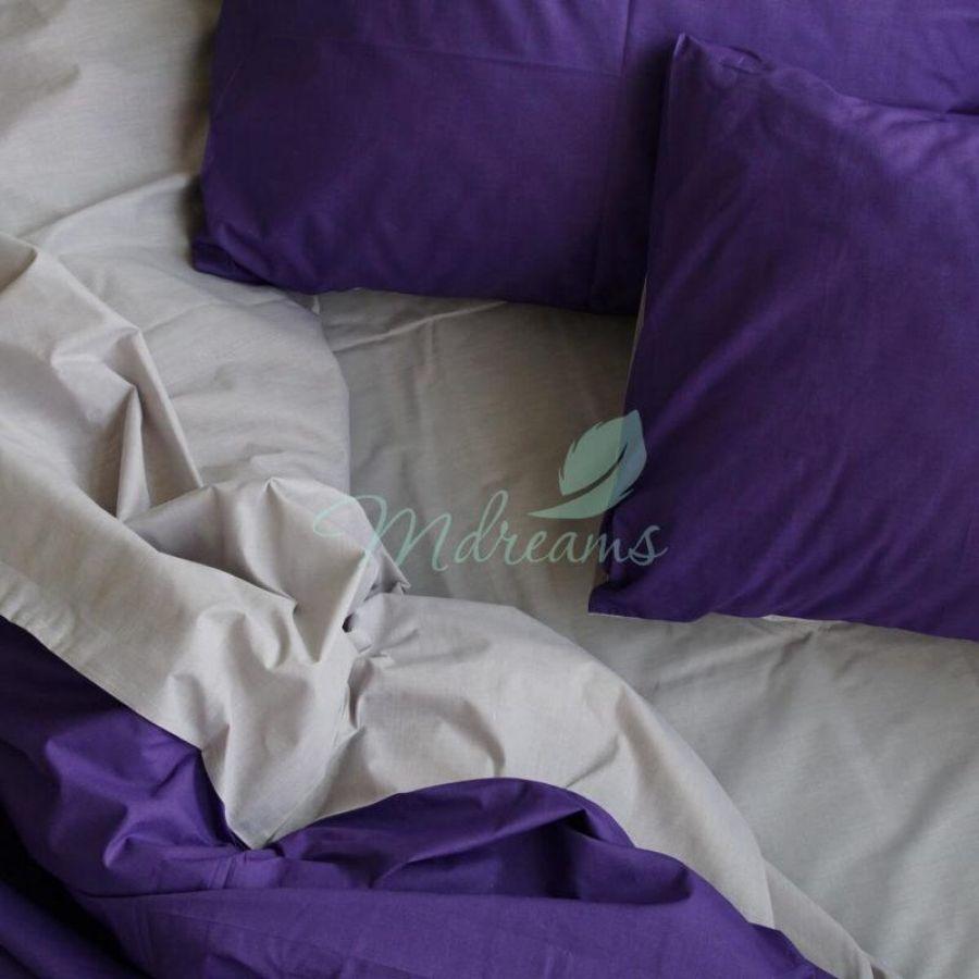 Світло-сіра з фіолетовим постільна білизна однотонна. Україна (Харків) 32288deea6ef2