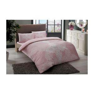 Janna v02 Евро розовый. Постельное белье TAC ранфорс