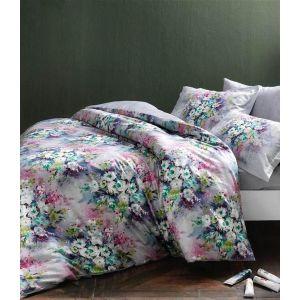 Delft lila v01 лиловый. Постельное белье TAC сатин