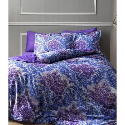 Solandis mor фиолетовый. Постельное белье сатин, TAC, Турция