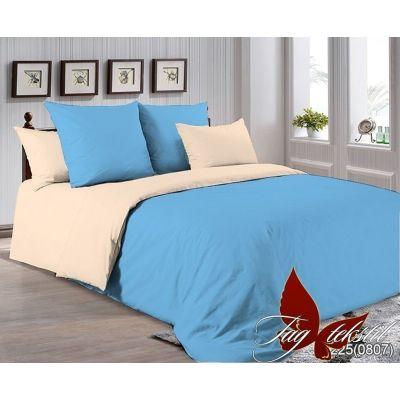 Комплект постельного белья арт. P-4225 (0807). Поплин однотонный, хлопок