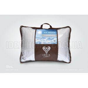 Подушка Air Dream Premium. Антиаллергенная, с внутренней подушкой, стеганый чехол на молнии. ТМ Идея