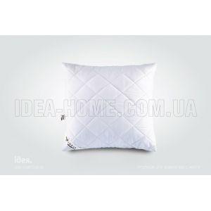 Подушка Comfort Standart+. Антиаллергенная, стеганый чехол на молнии. ТМ Идея