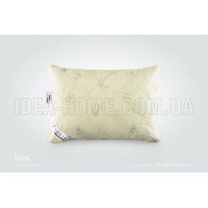 Подушка Wool Classic. С внутренней подушкой, стеганый чехол на молнии, встрочный кант. ТМ Идея