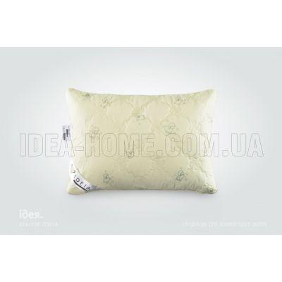 Подушка Wool Classic. С внутренней подушкой, стеганый чехол на молнии, встрочный кант. ТМ Идея, Украина