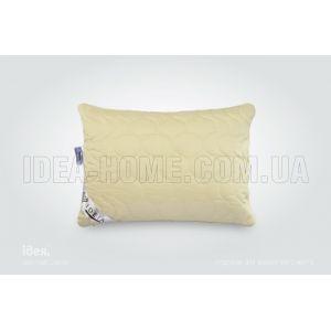 Подушка Wool Premium. С внутренней подушкой, стеганый чехол на молнии, встрочный кант. ТМ Идея