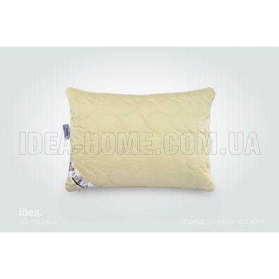 Подушка Wool Premium. С внутренней подушкой, стеганый чехол на молнии, встрочный кант. ТМ Идея, Украина