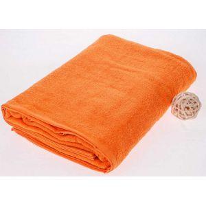 Махровая простынь Оранжевый цвет